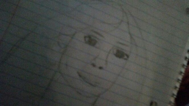 Tried to draw my sister but this happened... it's good but my sister is 8
