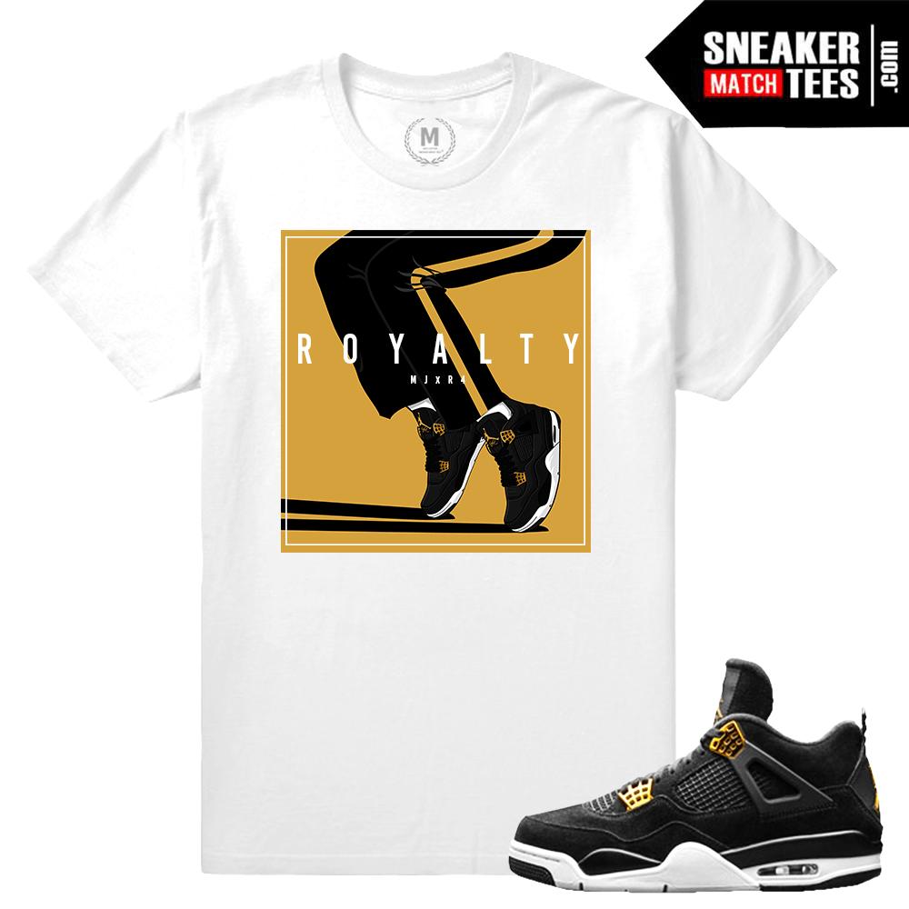 5fc1e389602c85 Air Jordan Royalty 4s T shirt Match