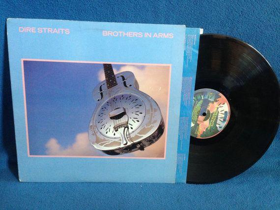Vintage Dire Straits Brothers In Arms Vinyl Lp By Sweetleafvinyl