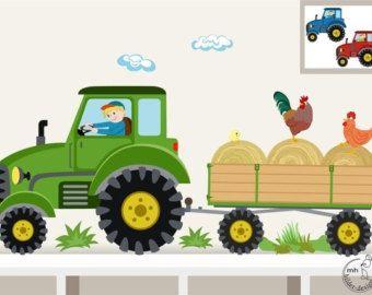 35 Das Beste Von Wandtattoo Kinderzimmer Traktor