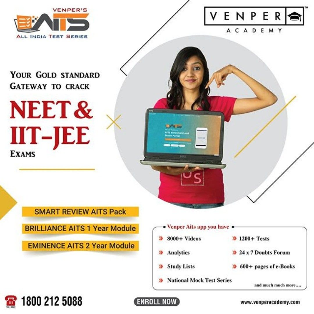 Neet Jee Onlineclass Entranceexam Medicalentrance Engineeringentrance Discount Venper Academy Is One Of The Best In 2020 Exam Success Jee Exam Online Coaching