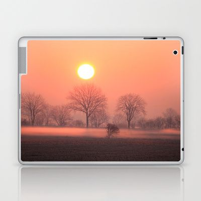 Foggy Sunrise  Laptop & iPad Skin by Angelika Kimmig - $25.00