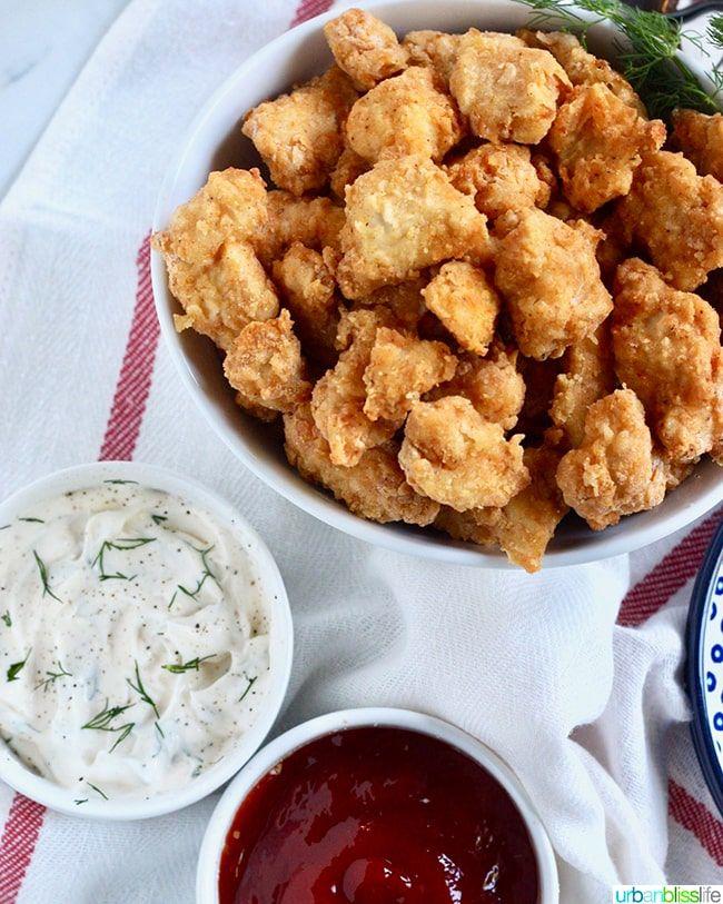 Air Fryer Popcorn Chicken Recipe Food recipes, Air
