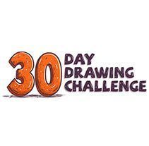 """30 Day Drawing Challenge"". A shiffa project - #challenge #drawing #project #shiffa - #new - -"