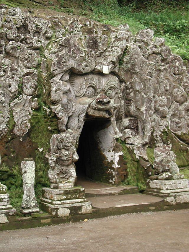 The Elephant Cave at Goa Gadjah Temple