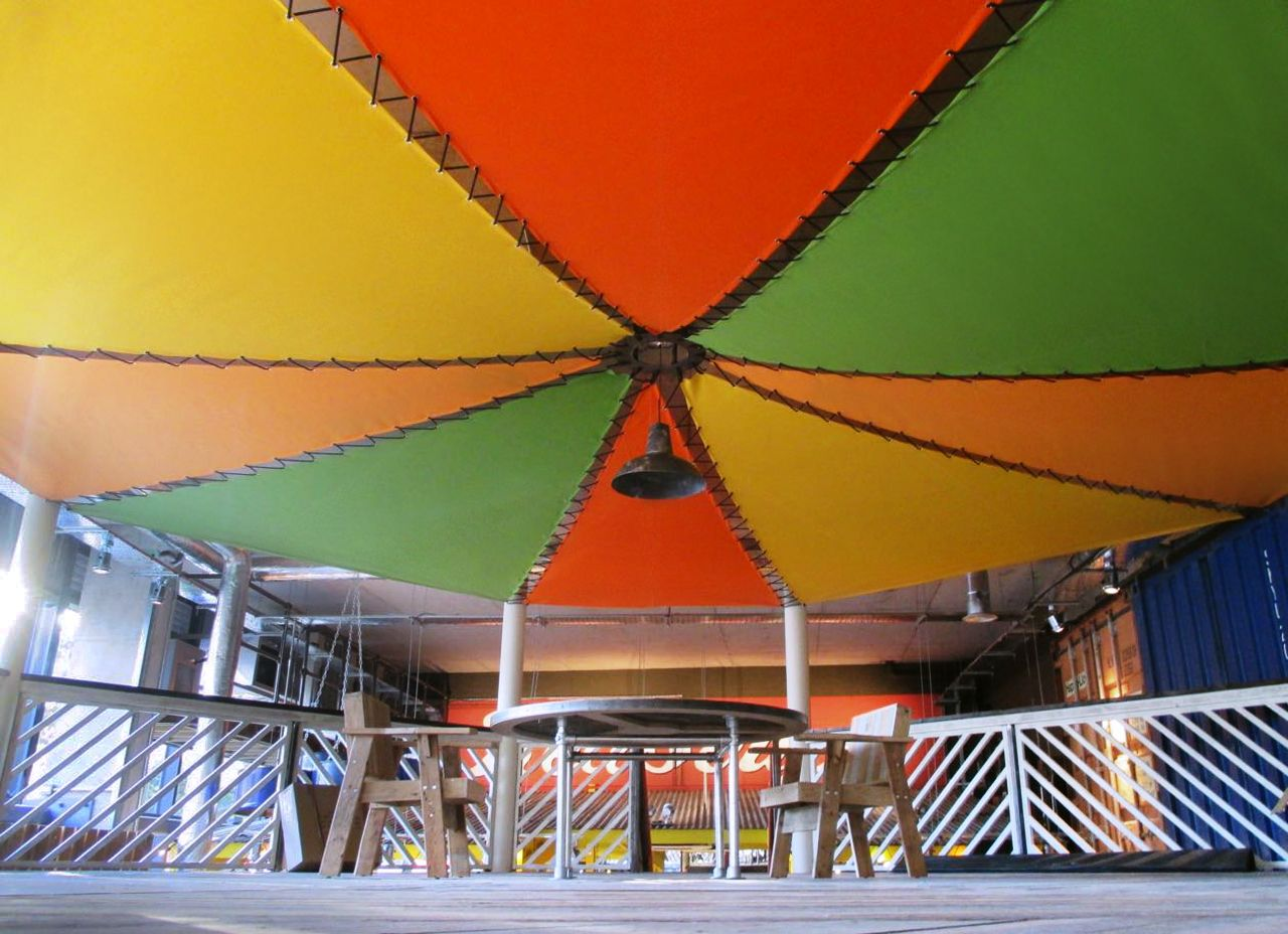 Internal Sails At Turtle Bay Bournemouth By Breezefree See More At Www Breezefree Com Sailawning Shadesail Sailing Shade Sail Turtle Bay