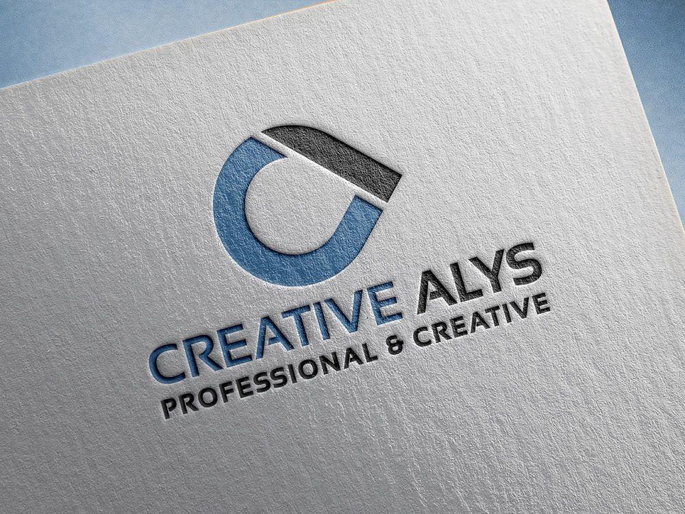 Paper Pressed Logo Mockup PSD Logo psd