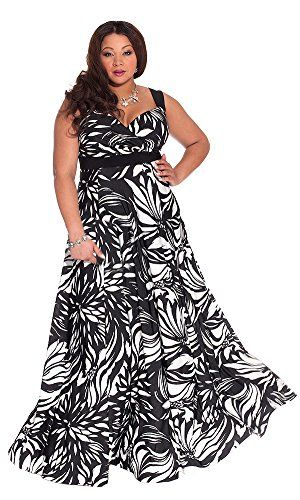 FUNFASH WOMENS PLUS SIZE SLIMMING BLACK COLOR BLOCK LONG ...