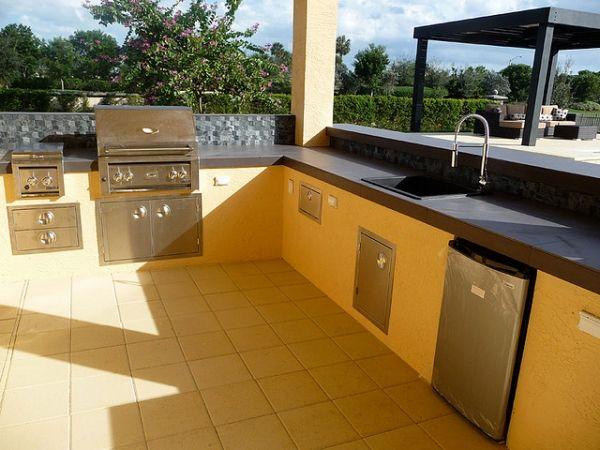 Wuauuu... 40 fantásticos diseños de cocina al aire libre #kitchen ...