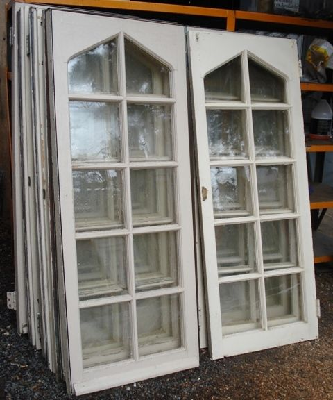 tudor french windows   recycling the past - architectural salvage