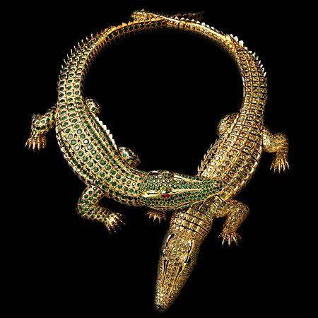 cartier reptile jewelry