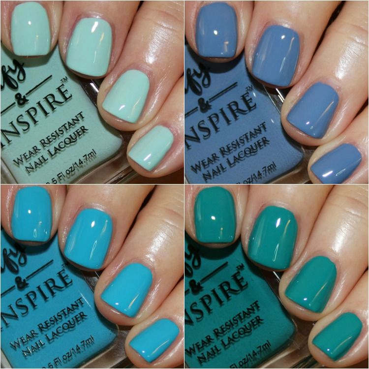 Laguna beach from defy and inspire   POLISH SWATCHES   Pinterest ...