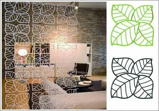 deco separation piece rideau design