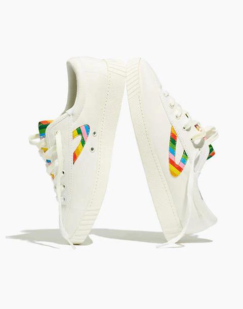 Nylite Plus Sneakers in Rainbow Canvas