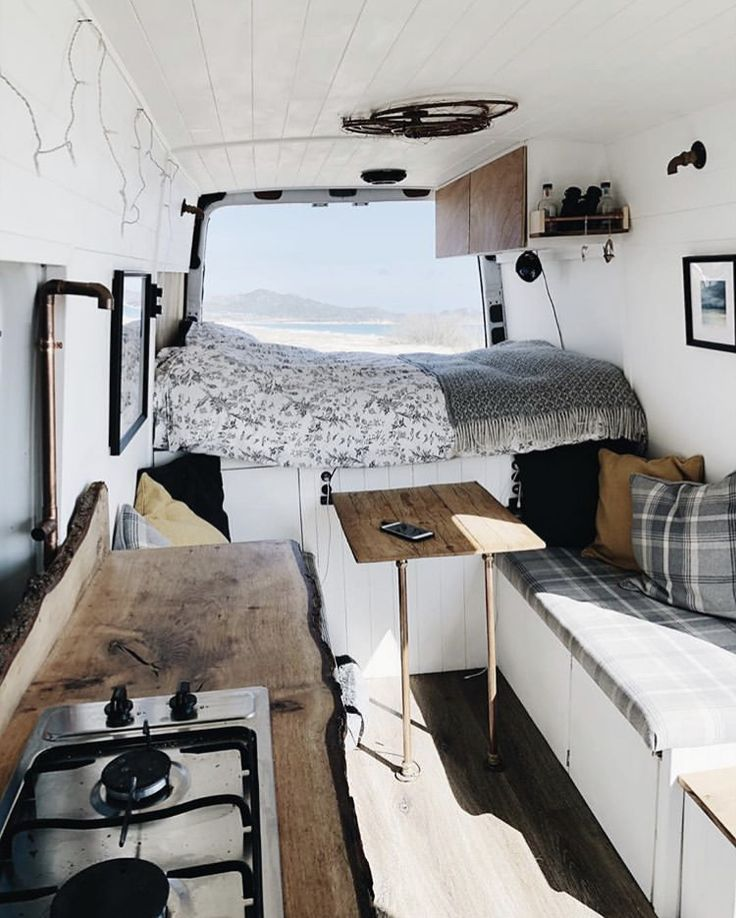 Photo of Motorhome with counters on the edge of the living room, padded ban … – #Ban #polsterte #homme …