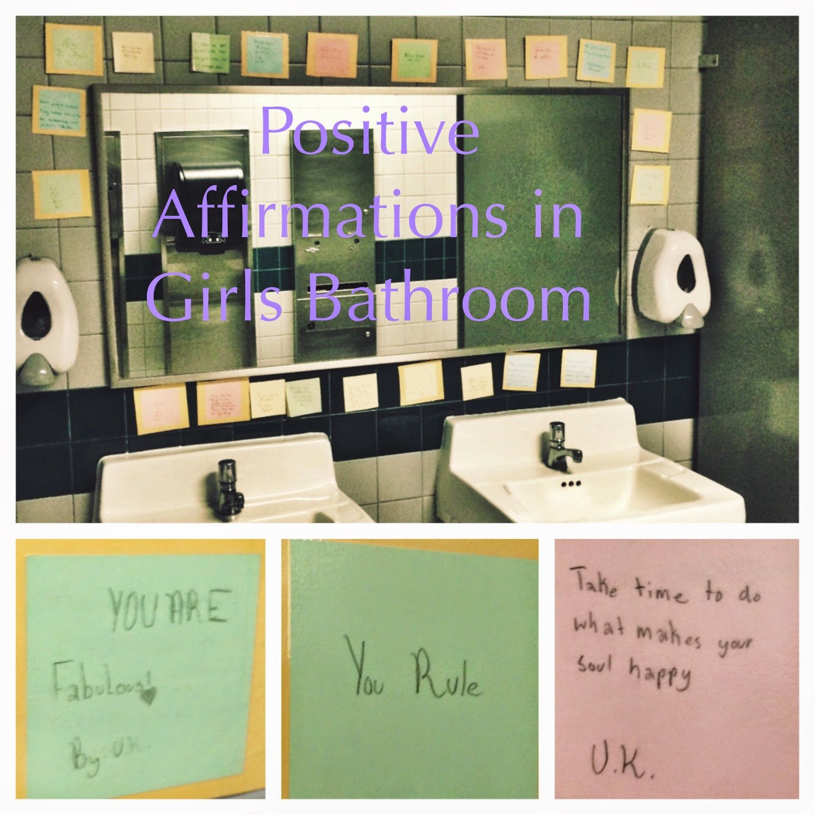 The Creative School Counselors Positive Affirmations In