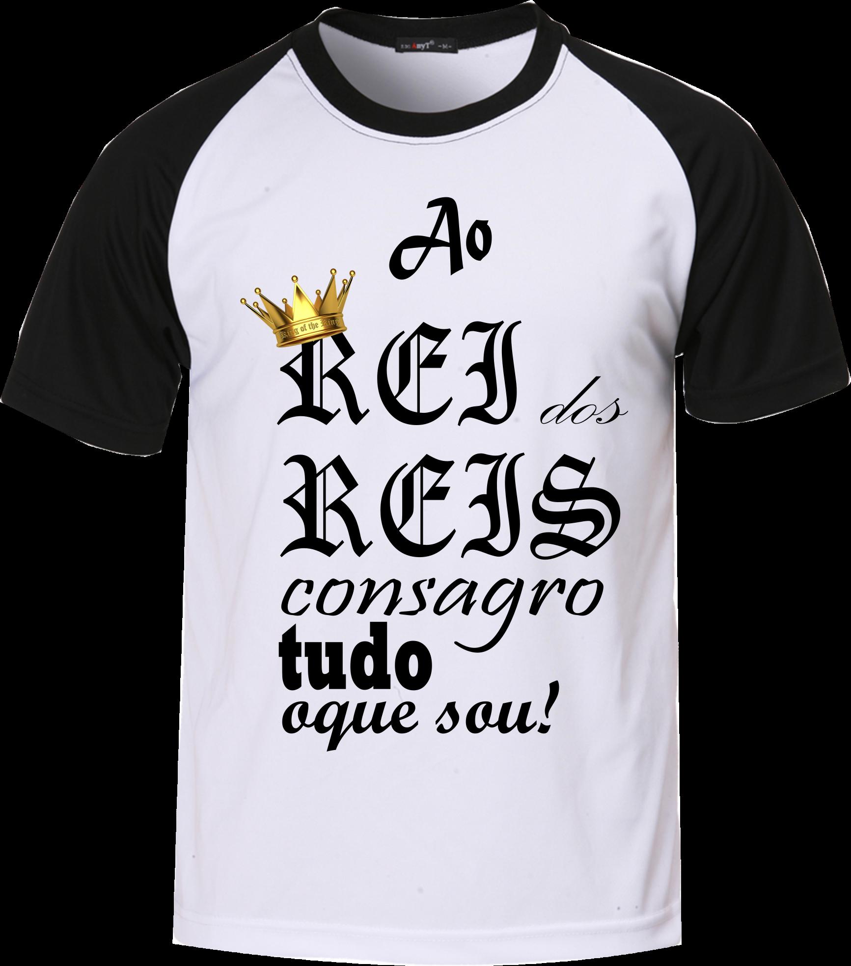 47f06e374 Linda Camiseta Gospel Ao Rei dos Reis Consagro Tudo o Que Sou ...