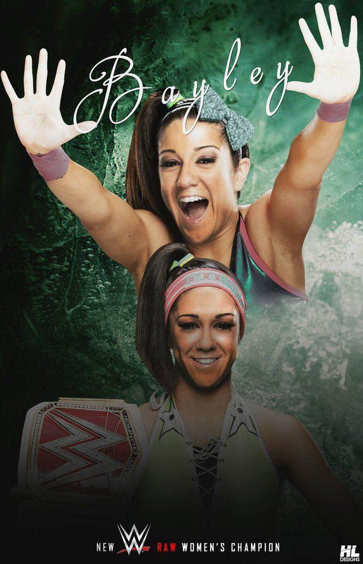Bayley New Wwe Raw Women S Champion Wallpaper By Hl03fx Deviantart Com On Deviantart Wwe Raw Women Raw Women S Champion Women S Wrestling