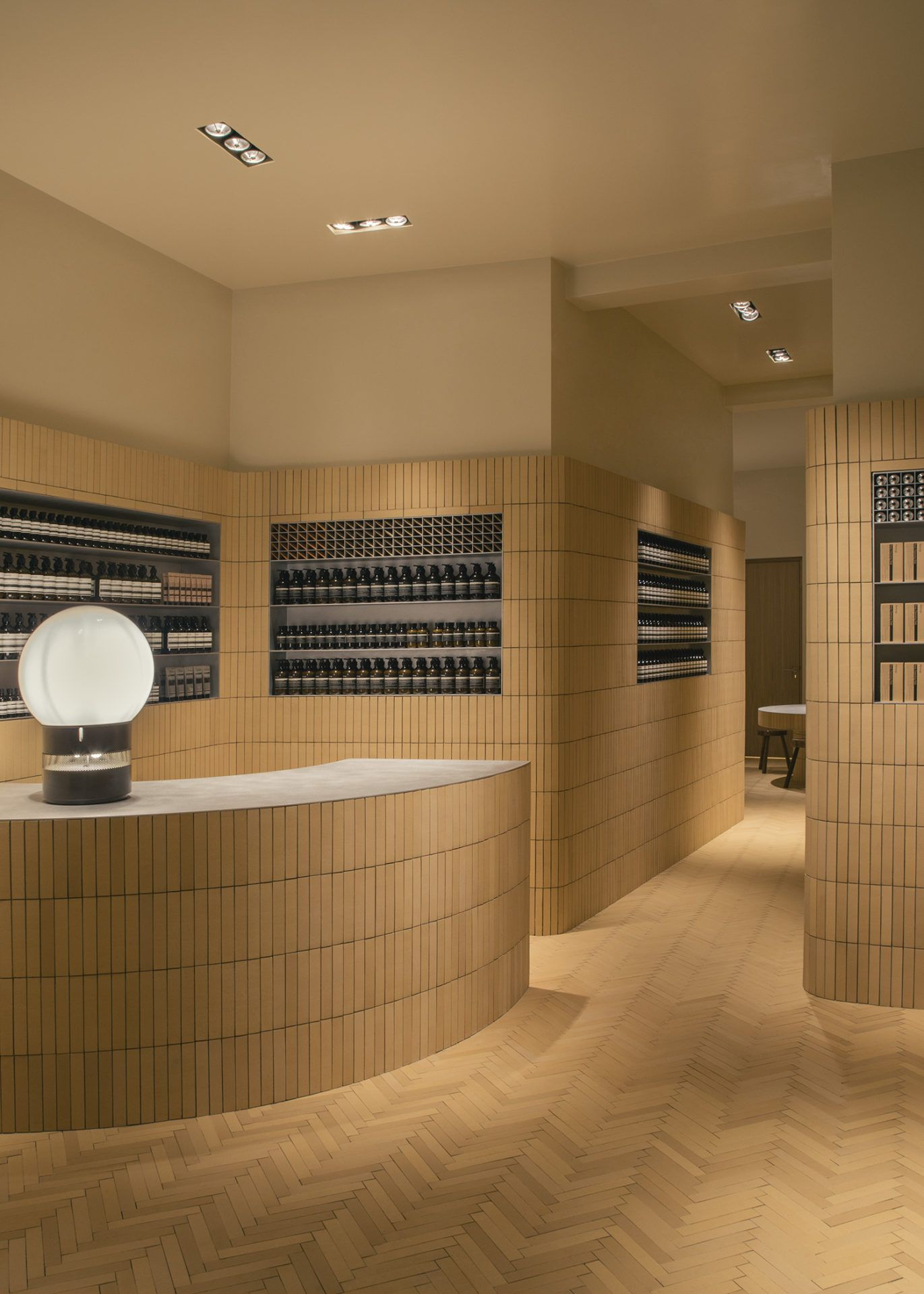 Aesop Rue De Namur Retail Interior Aesop Store Store Design