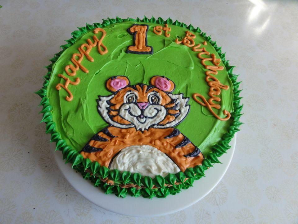 Tiger Individual Birthday Cake By Sweet Nothings Bakery Https