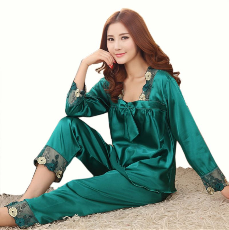 Cheap pajama silk, Buy Quality pajama short sets women directly ...