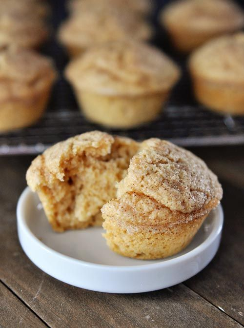 Cinnamon Sugar Dusted Coconut Vanilla Muffins from @Keita Furuya {Mel's Kitchen Cafe}