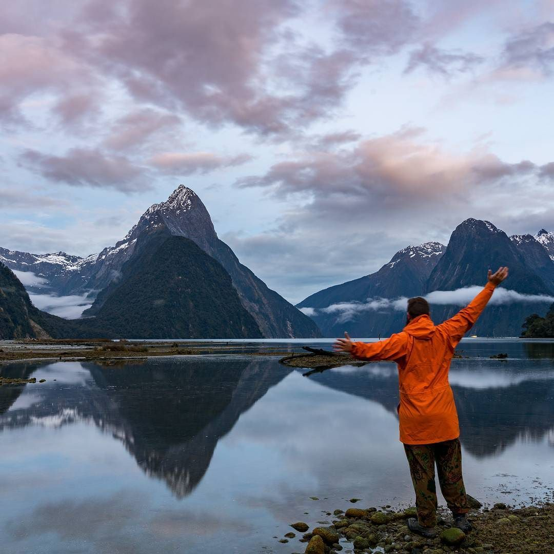 I can't tell you how long I've been wanting to finally make it to the Milford sound safe to say I was jumping for joy when it actually happened!  Last time I was supposed to go I ended up in hospital the day before after an accident involving a waterfall...   If you haven't made it there yet - don't delay!  @LOWANZ @EarthSeaSkyEquipment