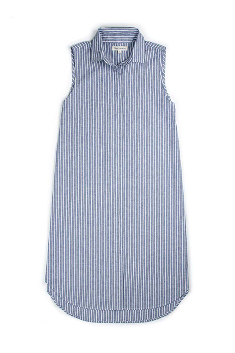 116c50324919 Sample Sale Soleil Dress Navy Stripe
