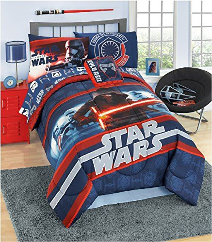 Star Wars 6 Pc Complete Bed Set With Cotton Rich Sheets Super Soft