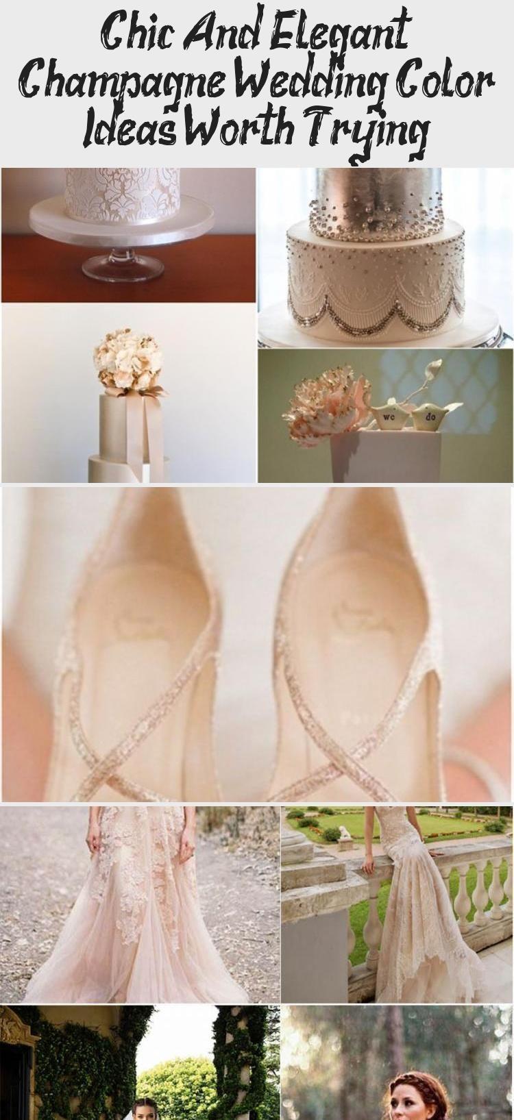 Schicke und elegante Champagner Hochzeit Farbideen, die es wert sind, ausprobier...#ausprobier #champagner #die #elegante #farbideen #hochzeit #schicke #sind #und #wert