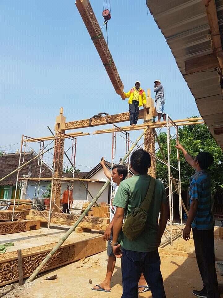 JUAL RUMAH JOGLO SOKO/TIANG SOKO 30 BAHAN JATI TPK (Dengan ...