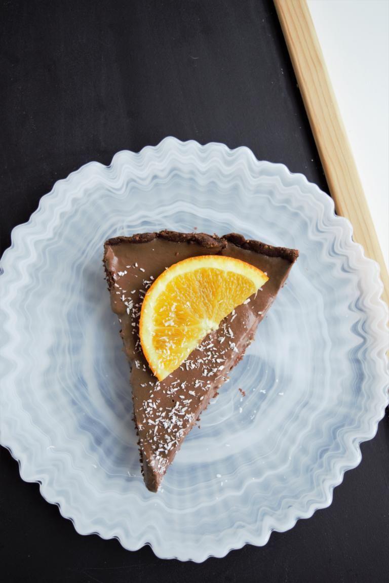 Schoko Orangen Tarte Gesunde Desserts Laktosefreie Rezepte Und Gesund Backen