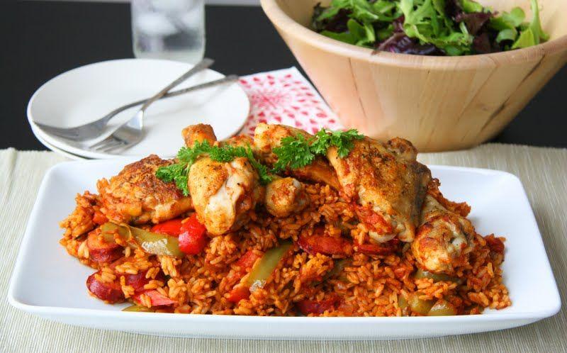 Jambalaya with chicken and chorizo recipes chicken pinterest jambalaya with chicken and chorizo forumfinder Gallery