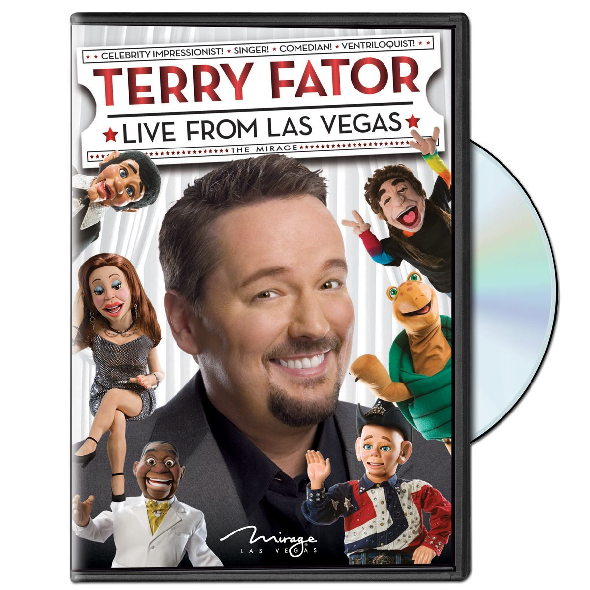 Terry Fator Live From Las Vegas DVD