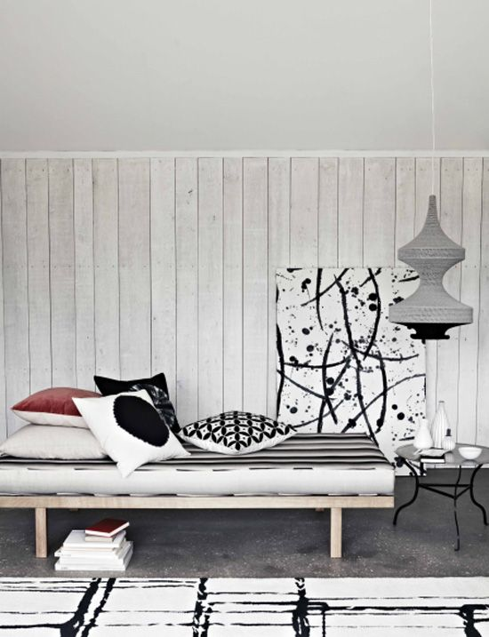 graphic living room
