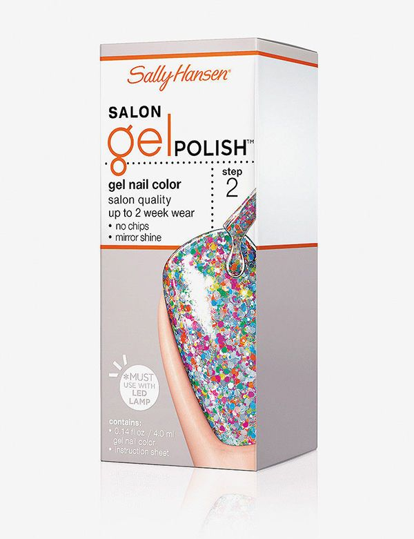 Sally Hansen Gel Nail Polish Led Lamp - Creative Touch