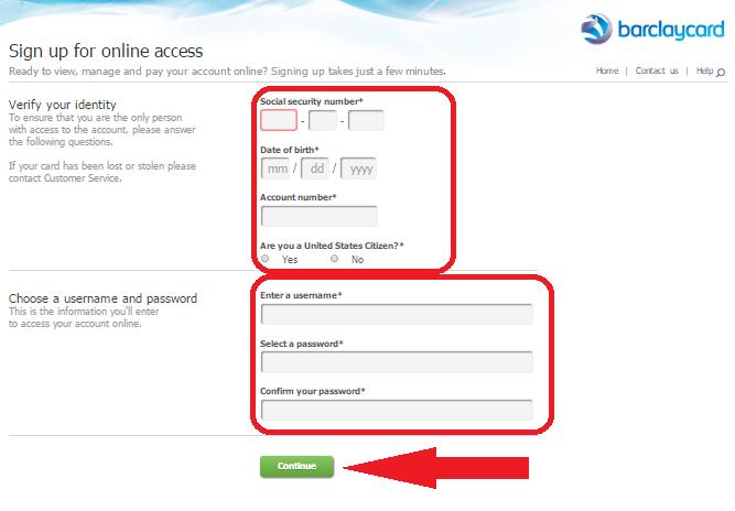 Barclays Credit Card Login - mybarclaycard login Online