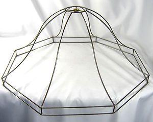 Diy wire frame light covers wiring info lamp shade frame large wire round custom handmade nyc lamp shade rh pinterest com diy projects with chicken wire toggle switch covers greentooth Gallery