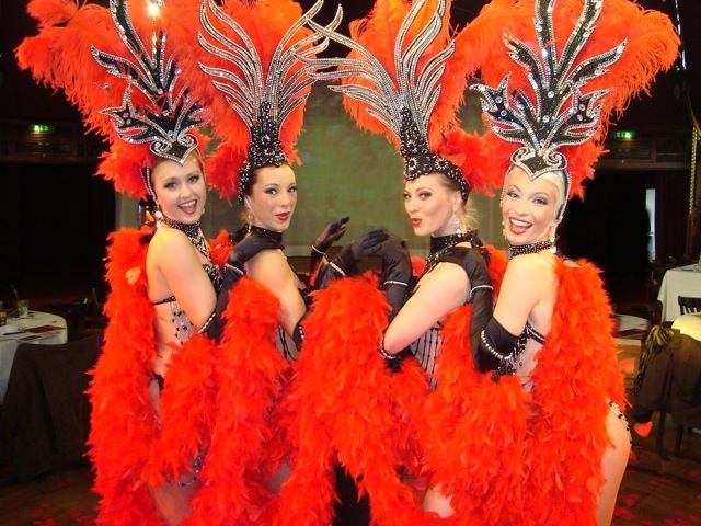 Image result for showgirls with feathers