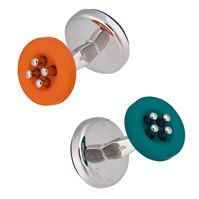 SAZINGG 925 Silver Button Cufflinks  #sazingg #fathersday #gifts #cufflinks