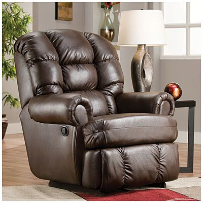 Stratolounger 174 The Big One Logins Espresso Recliner At