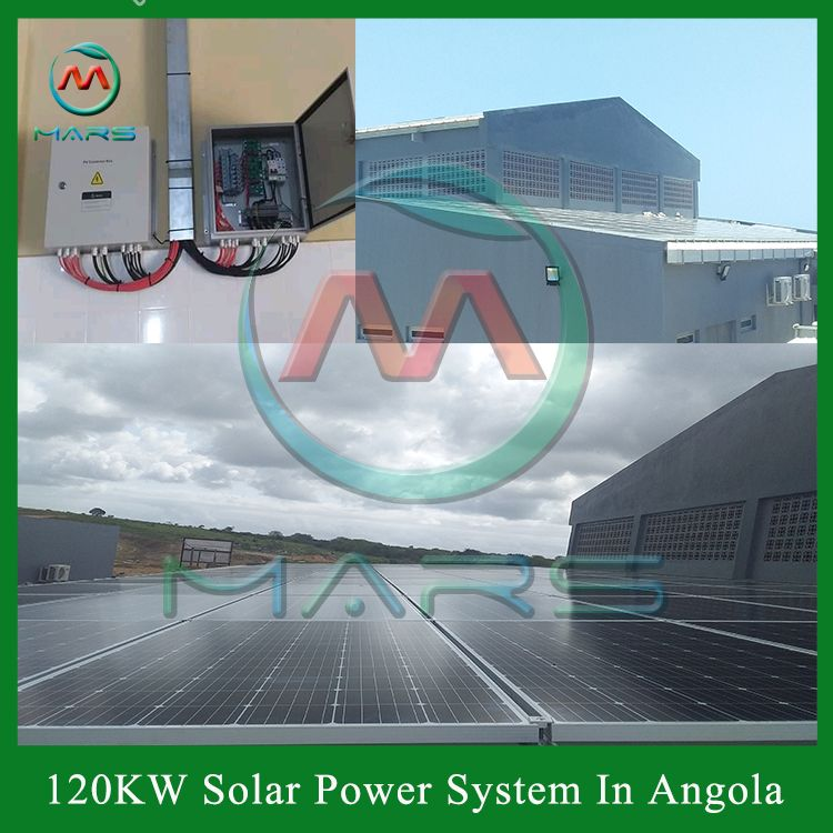Solar Power System In Angola In 2020 Solar Photovoltaic System Solar Power System Solar Pv Systems