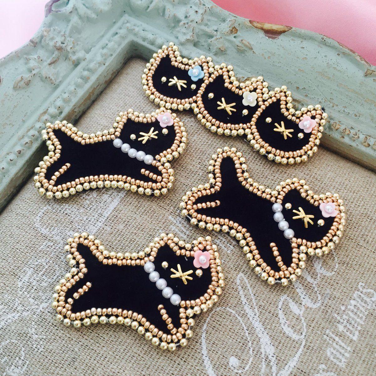 Вышивка кошки бисер схемы