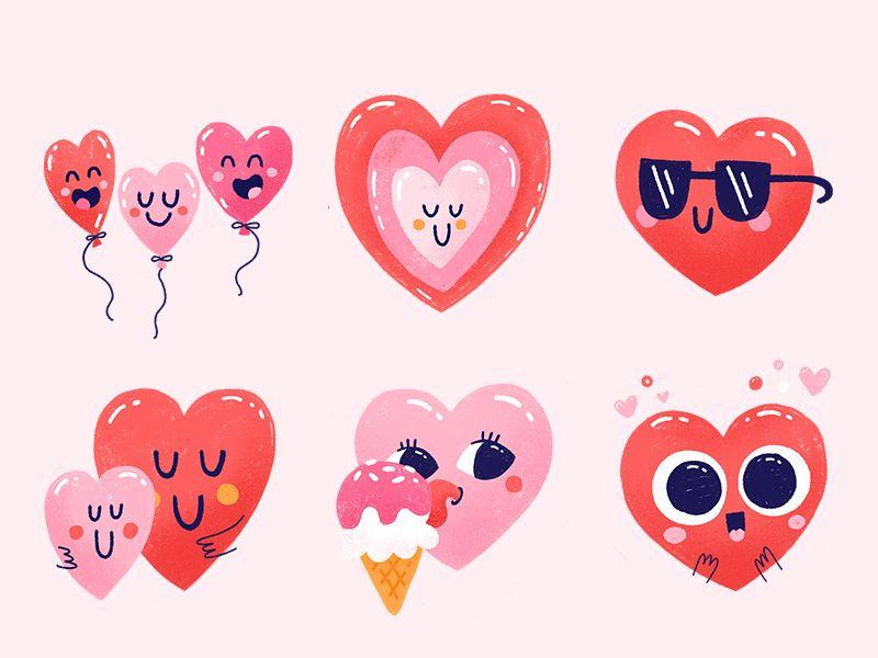 La La Love Snapchat Stickers Valentine Stickers Valentines Illustration Valentines Wallpaper