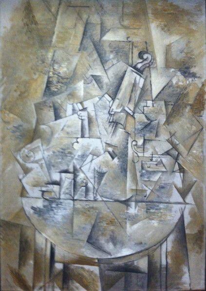 George braque composition 1912 inspiration for Braque peintre