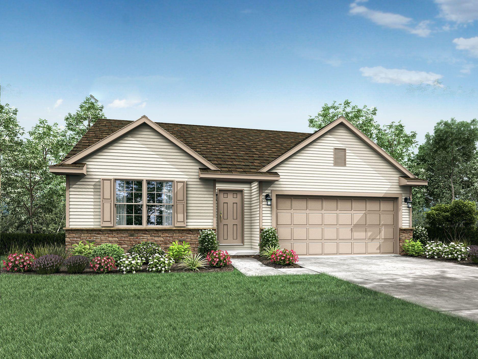 Bristol Floor Plan Ranch Custom Home With Images Wayne Homes