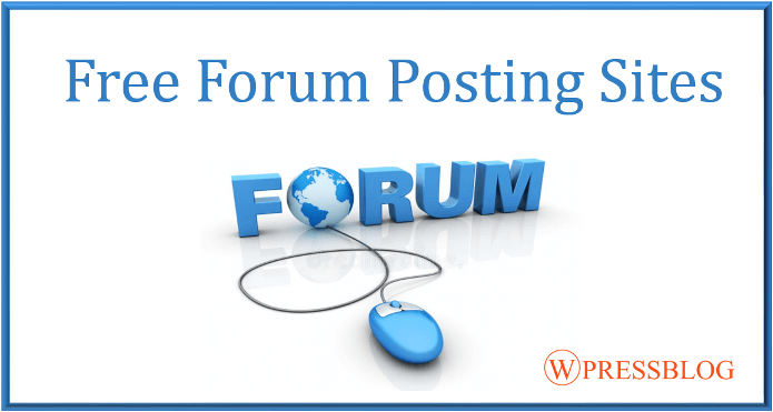Top 400+ Free #ForumPosting Sites List for 2018 #SEO | SEO