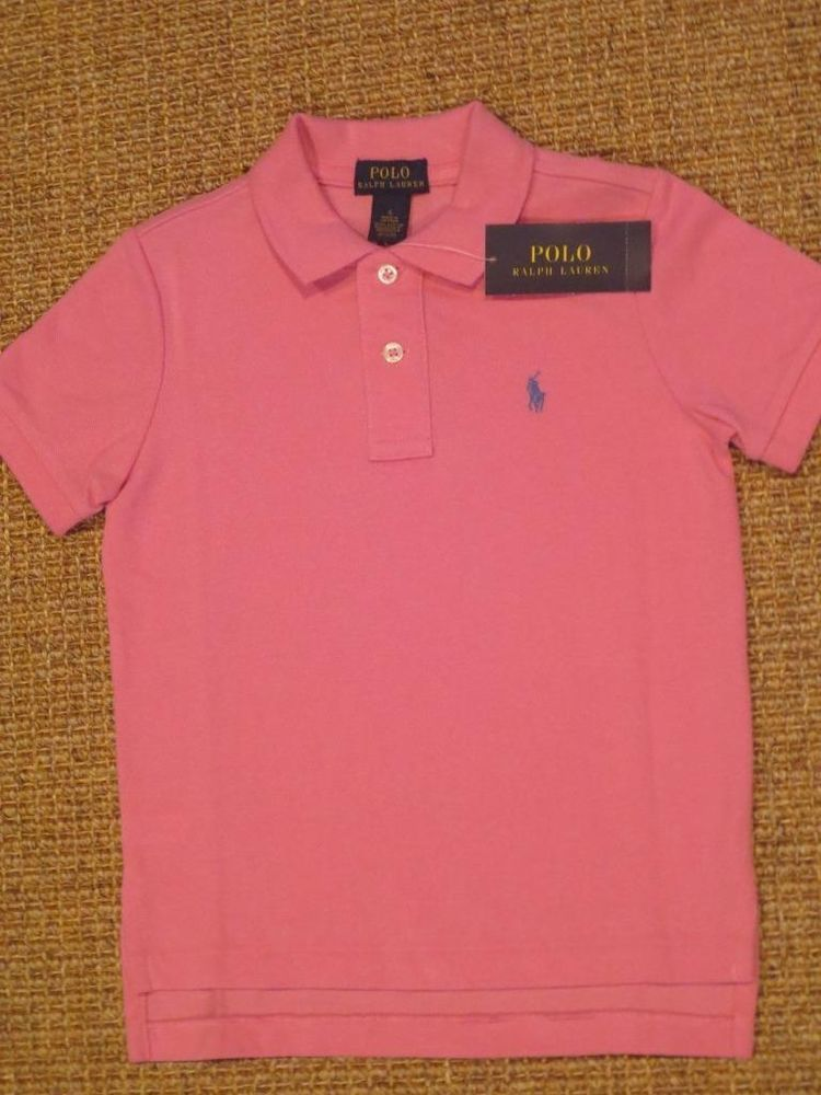 New Medium M Polo Ralph Lauren Mens hooded T-shirt hoodie Tee Pink top shirt NWT