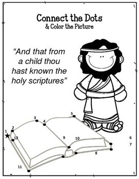 Children Of The Bible Series Timothy Worksheets