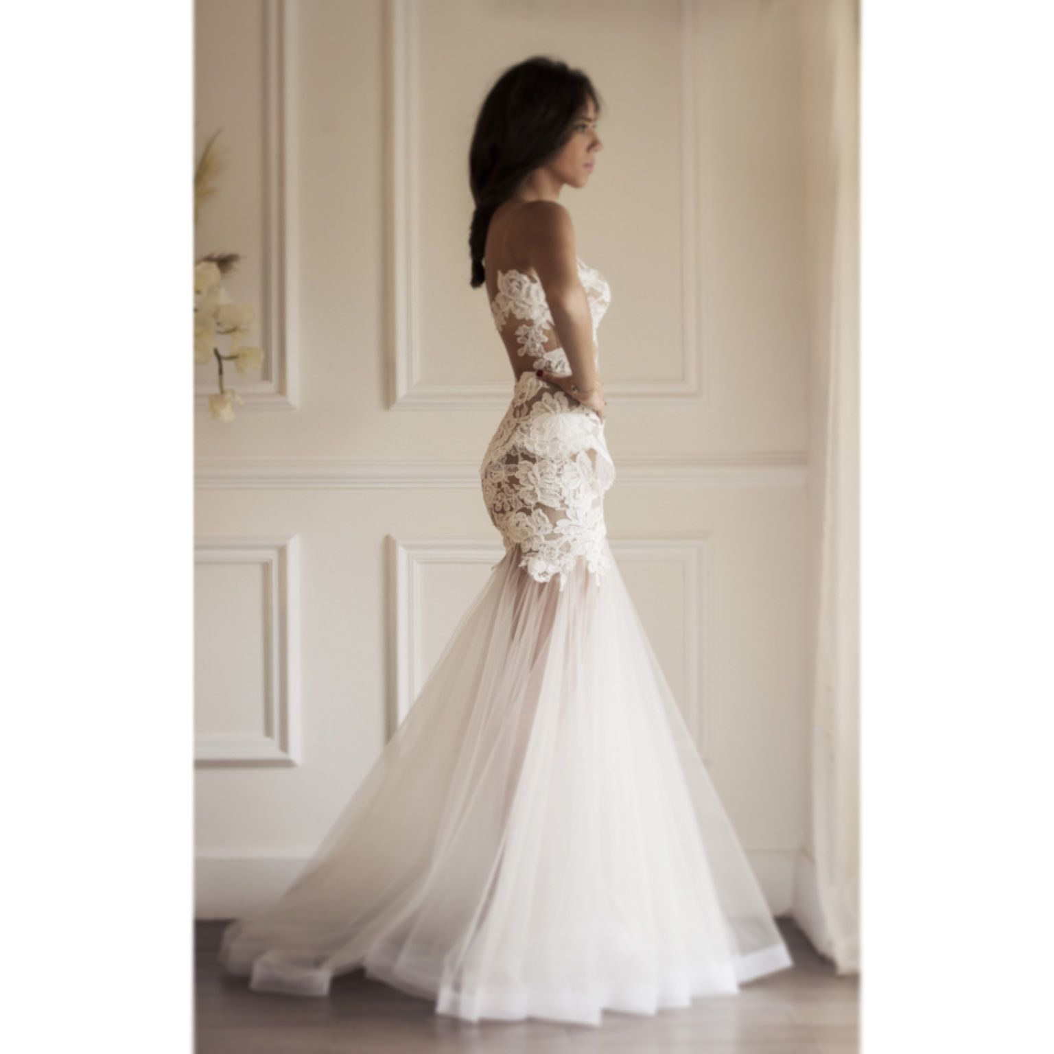 Form Fitting Wedding Gowns: Pin By Michelle Jones On Mz Cinderella Couture Couture
